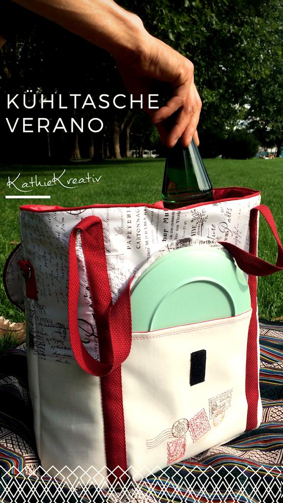 Kühltasche Verano nähen mit KathieKreativ