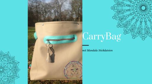CarryBag nähen mit KathieKreativ.de