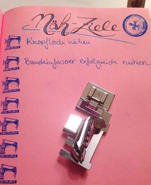 NähBuJo KathieKreativ Bullet Journal -nähen
