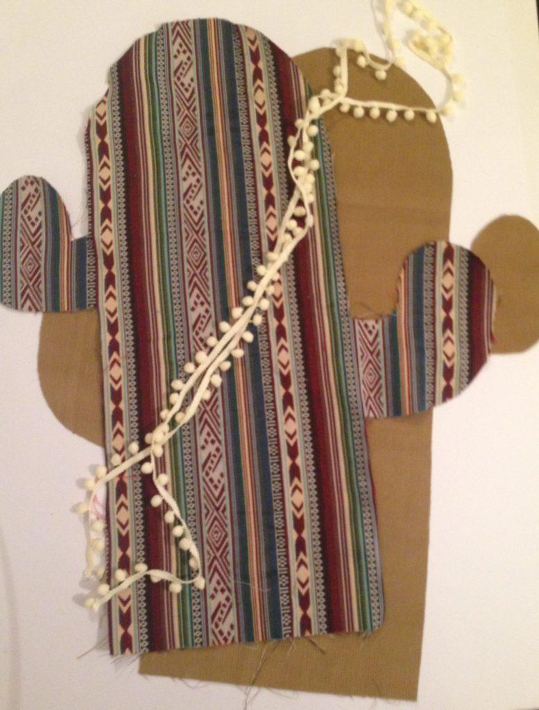 Kaktus Kissen mit Bommel von KathieKreativ - Nähen für Anfänger - Schnell genähtes Geschenk - DIY - selbermachen