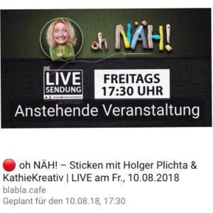 KathieKreativ bei Oh Näh im BlaBla.Cafe