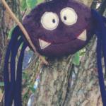 Halloween Stickdatei Freebie: Die ITH Spinne