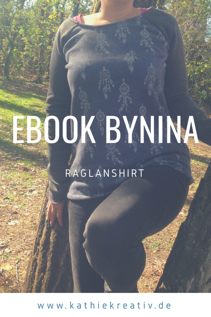 Raglanshirt nähen: byNina • KathieKreativ