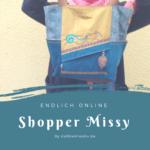 Shopper Missy nähen - schnell genäht und super als Geschenk geeignet - nähen und #sticken mit KathieKreativ