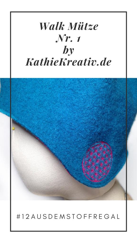 Walk Mütze #nähen #12ausdemStoffregal • KathieKreativ