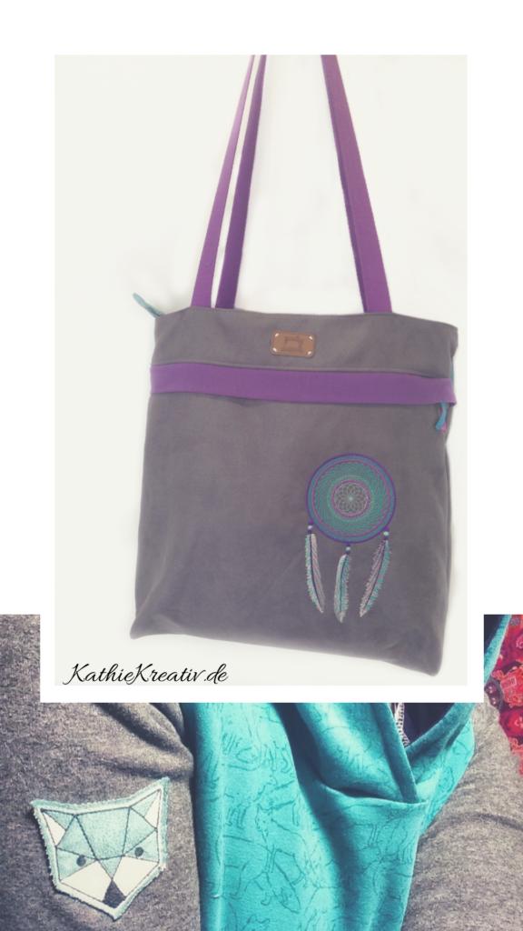 Citie_Bag • KathieKreativ #NordSüdYello Sew Along - #nähen uns #sticken mit KathieKreativ