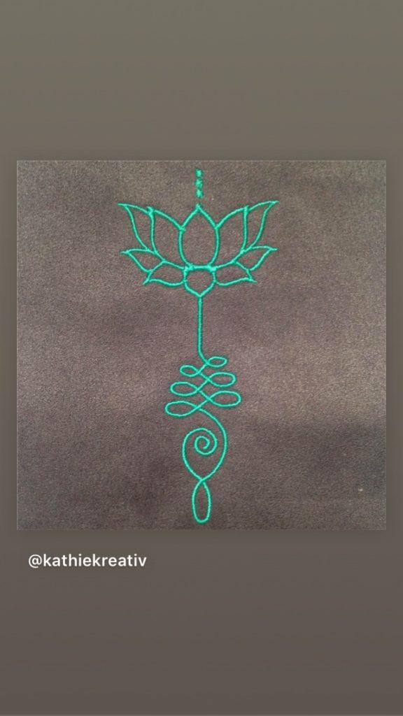 Rucksack Eluene nähen mit #KathieKreativ Lotusr #Stickdatei