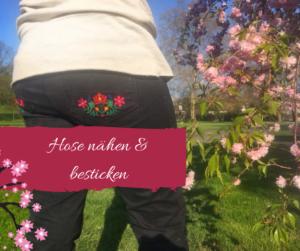 LaPetara bestickt mit Kalocsai von KathieKreativ Stickdateien - KathieKreativ Blogpost über Nähen und Sticken