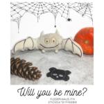 ITH Fledermaus Stickdatei Freebie für Halloween - KathieKreativ.de