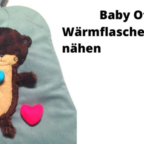 Baby Otter Wärmflaschenhülle nähen