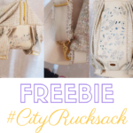 Freebie Schnittmuster 'CityRucksack von Heidi Nadelfee - Oh NÄH - BlaBla.Cafe KathieKreativ