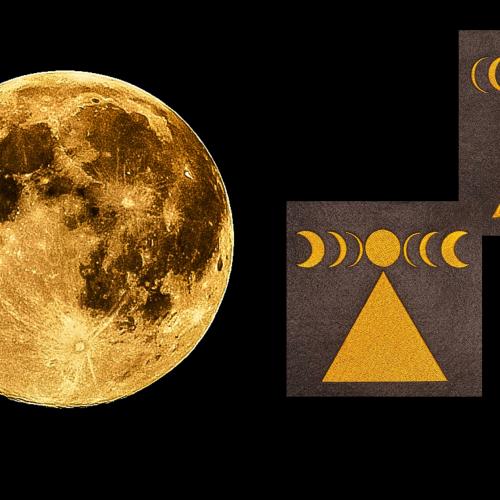 Mondphasen Stickdateien