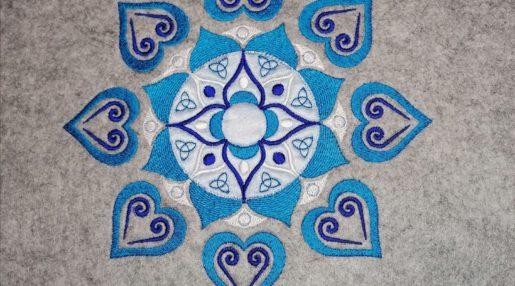 kathiekreativ Mandala 20er Sickdatei sticken